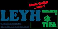 The logo for Leyh Lebensmittel-Großhandel GmbH
