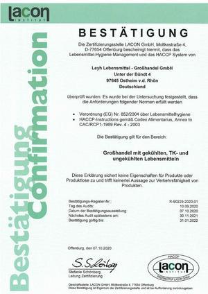 HACCP_Zertifikat2020